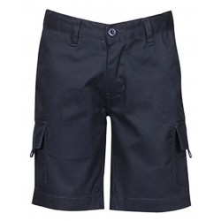 Kids Mercerised Work Cargo Short - 6MS Kids