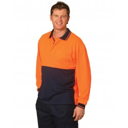 High Visibility L/S Polo - SW05CD
