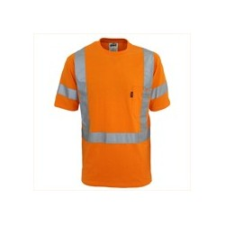 HiVis cotton taped Tee - 3917