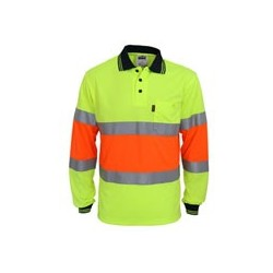 HiVis Cool-dry 2T Bio-motion D-N Polo - 3709