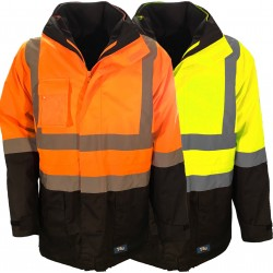 Jacket 6 in 1 with Vest Poly Oxford with TRu Reflective Tape (TJ2900T6 + TJ2945T4) - TJ2920T6