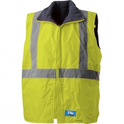 Vest with TRu Reflective Tape (Combine with TJ2900T1 Jacket to make 4 in 1 Jacket) - TV1915T5