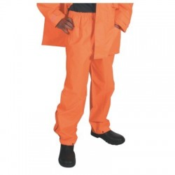 300D Polyester/PU HiVis Breathable Rain Trousers  - 3874