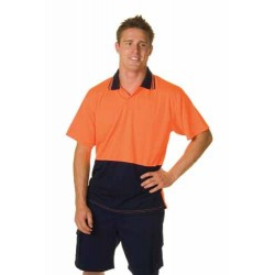 175gsm Polyester HiVis Food Industry Polo, S/S - 3903