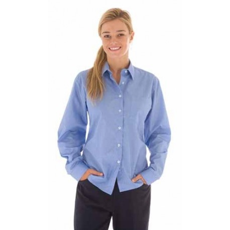 110gsm Polyester Cotton Ladies Chambray Shirt, L/S - 4212