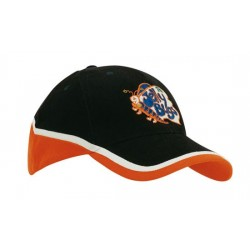 HEADWEAR PROFESSIONALS Tri-Coloured Cap 4026