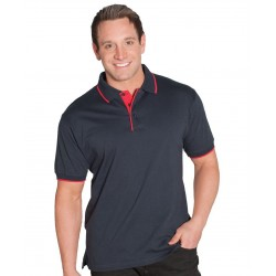 COTTON TIPPING POLO - 2CT