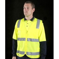 Hi Vis (D+N) Safety Vest - 6DNSZ