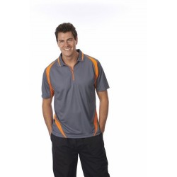PODIUM ZIP POLY POLO - 7PZPP
