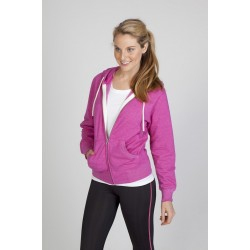 Ladies/Junior Greatness Heather Zip Hoodie - FZ75UN
