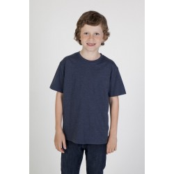 Kids Marl Crew Neck T-shirt - T306KS