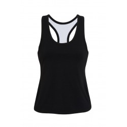 Ladies Self Brassiere Singlet - T666LD