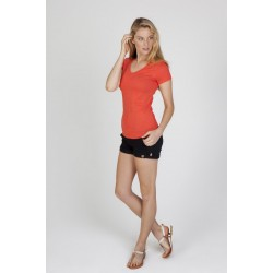 Ladies Marl V-neck T-shirt - T903LD