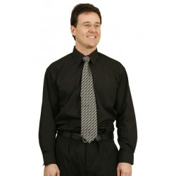 Mens Long Sleeve Poplin Shirts - BS01L