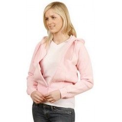 Ladies Full-zip Fleecy Hoodie - FL04