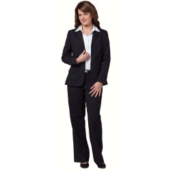Womens Wool Blend Stretch Mid Length Jacket  - M9200