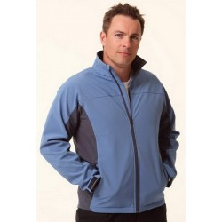 Mens Contrast Softshell Jacket - JK31