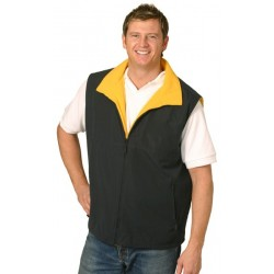 Shower Proof Micro Fibre / Polar Fleece Reversible Vest (Unisex) - PF04A
