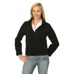 Ladies Bonded Polar Fleece Full Zip Fitted Jacket - PF08