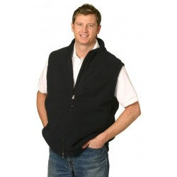 Mens Bonded Polar Fleece Vest - PF09