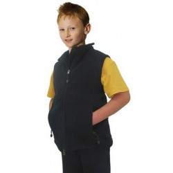 Kids Bonded Polar Fleece Vest - PF09K