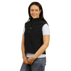 Ladies Bonded Polar Fleece Vest - PF10