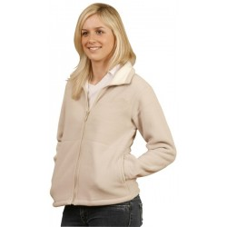 Ladies Shepherd Polar Fleece Contrast Jacket - PF16