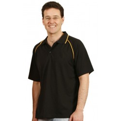 Mens CoolDry Raglan Short Sleeve Contrast Polo - PS20