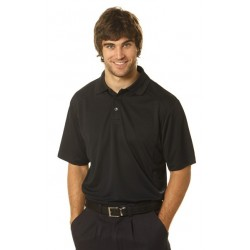 Mens Breathable Bamboo Charcoal Polo - PS59