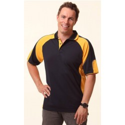 Mens CoolDry Contrast Polo with Sleeve Panels - PS61