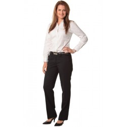 Womens Wool Stretch Low Rise Pants - M9410
