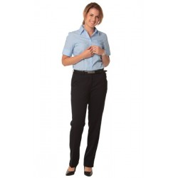 Womens Poly/Viscose Stretch Flexi Waist Utility Pants - M9440