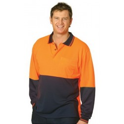 High Visibility L/S Polo - SW05TD