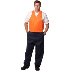 Mens Regular Size, Hi-Vis Action Back Overall - SW201