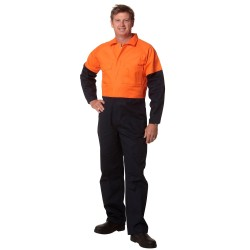 Mens Regular Size, Cotton Drill Coverall - SW204