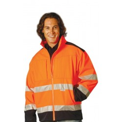 2-Tone SoftshellSafety Jacket With3M Reflective Tapes - SW29