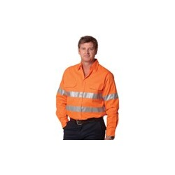 Mens Cotton Drill Safety Shirt - SW52