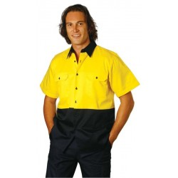 High Visibility ShortSleeve Work Shirts - SW53