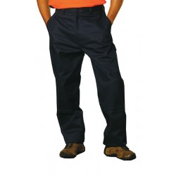 Cotton Drill Cargo Pants With Knee Pads - WP03