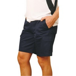Mens Heavy Cotton Pre-shrunk Drill Shorts - WP06