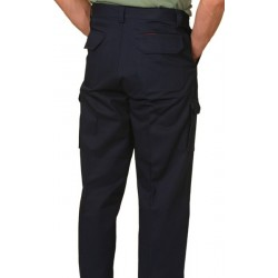 Mens Heavy Cotton Pre-shrunk Drill Pants Stout Size - WP08