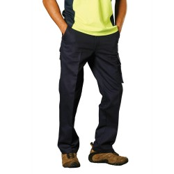 Mens Heavy Cotton Pre-Shrunk Drill Pants Longer Leg Size - WP13