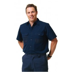 DURA WEAR Short Sleeve Work Shirt - WT05