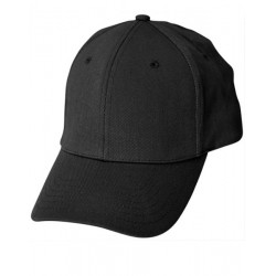 Heavy unbrushed cotton structured fitted cap - CH36