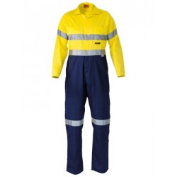 3M TAPED LIGHTWEIGHT COVERALL 2 TONE - BC6719TW