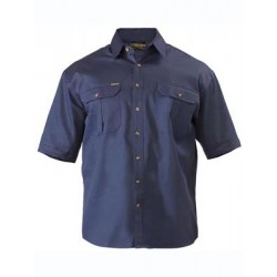 ORIGINAL COTTON DRILL SHIRT S/S - BS1433