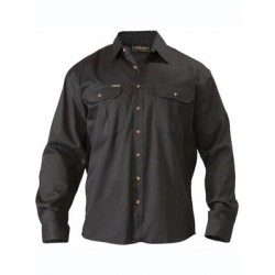 ORIGINAL COTTON DRILL SHIRT L/S - BS6433