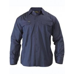 COOL LIGHTWEIGHT DRILL SHIRT L/S - BS6893