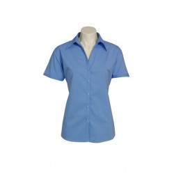 Ladies Short Sleeve Metro Stretch Shirt - LB7301