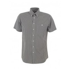 Men's Short Sleeve Gingham Check - W46